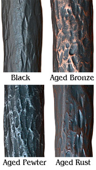 iron finishes